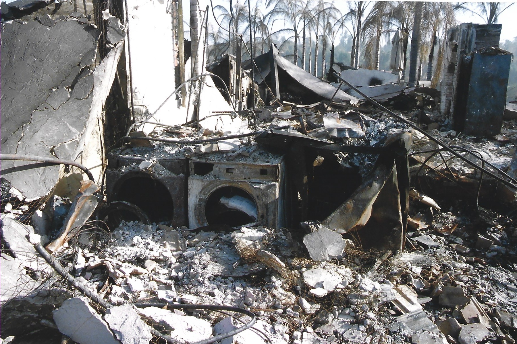 Local resident lost home to Witch Creek wildfire